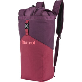 Marmot Urban Hauler Pequeña, brick/dark purple